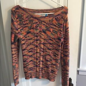 Anthropologie sparrow boatneck sweater